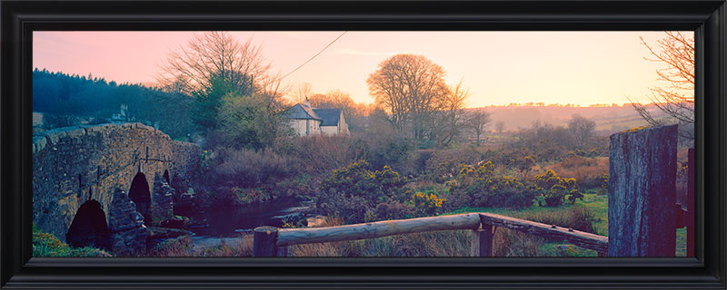 postbridge spring sunset