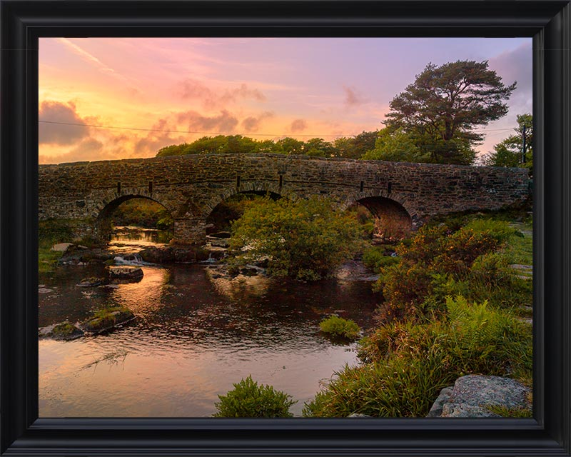 Postbridge sunset
